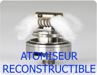 atomiseur reconstructible